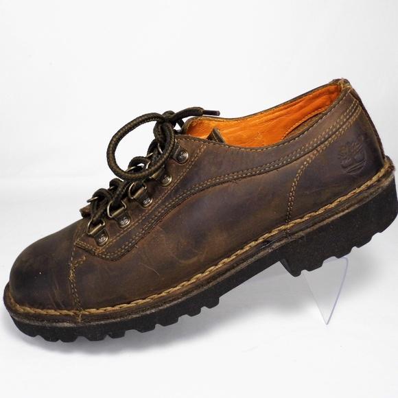 Timberland Low Cut Nubuck Hiking Boots M's Sz 7.5M